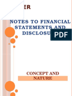 Chapter 6 Notes to Financial Statements