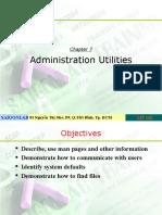 LPI 101 Ch07 Administration Utilities
