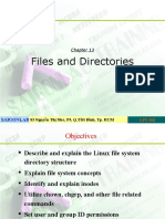 LPI 101 Ch13 Files and Directories