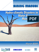 Manual for Hydroclimatic Disaster