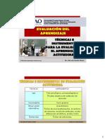 Sesion 06-Técnicas e Instrumentos de Evaluación Actitudinal