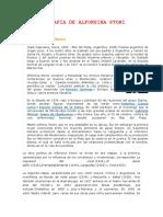 1) Biografia de Alfonsina Stoni