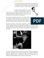 1) Biografía de Antonio Machado