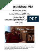 Ramakant Maharaj USA