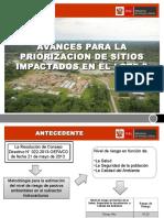 Avance Priorizacion - Lote8