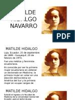 Matilde Hidalgo Navarro