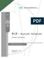 ALS - AL-ALCplus2 User Manual Mn00224s Ed.03