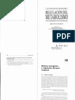 Regulacion Del Metabolismo. Una Perspectiva