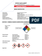 Saf 5152 Material Safety Data Sheet