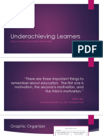 underachieving learners ppt