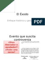 El Exodo Historia y Geografia
