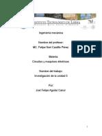 Unidad 5 de Circuitos y Maquinas Electricas de Joel Felipe Aguilar Canul
