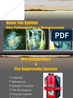 Fire Extinguishers Suppression Systems