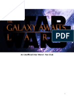 The Galaxy Awaits Larp Rules
