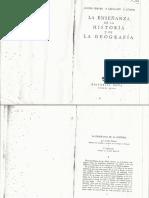 Lucien Febvre Geografia e Historia