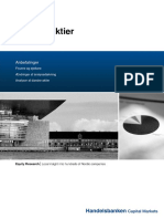 Handelsbanken - Danske Aktier 2015-08