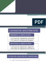 Modos de Adquirir La Propiedad en el código civil peruano