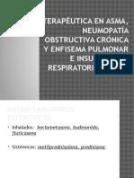 Terapéutica en Asma