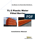 Pemasangan Water Barrier