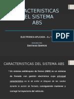 Caracteristicas Abs