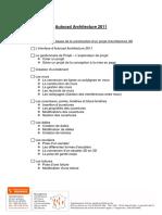 Programme Auto Cad Architecture 20115 Jours