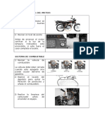 Preparatorio Moto Suzuki Ax 100