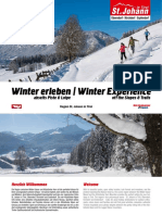 Winter Erleben - Winter Experience / Region St. Johann in Tirol