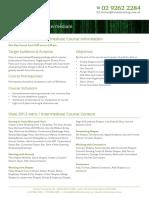 Visio 2013 Intro Intermediate Outline