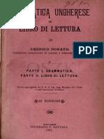 Grammatica Ungherese