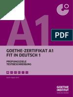 Online a1 test goethe institut Practice materials