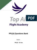 PPL(A) Question Bank