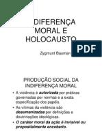 INDIFERENÇA MORAL E HOLOCAUSTO
