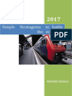 Simple Strategems to Battle the Economy by Moono Basila