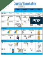 2017 timetable