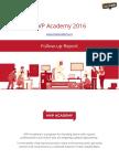 Mvp Academy Activity Report