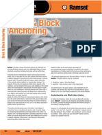 Ramset Specifiers Resource Book Ed3 - Brick and Block Anchor