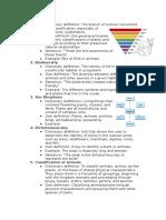 bio vocab pre assessment