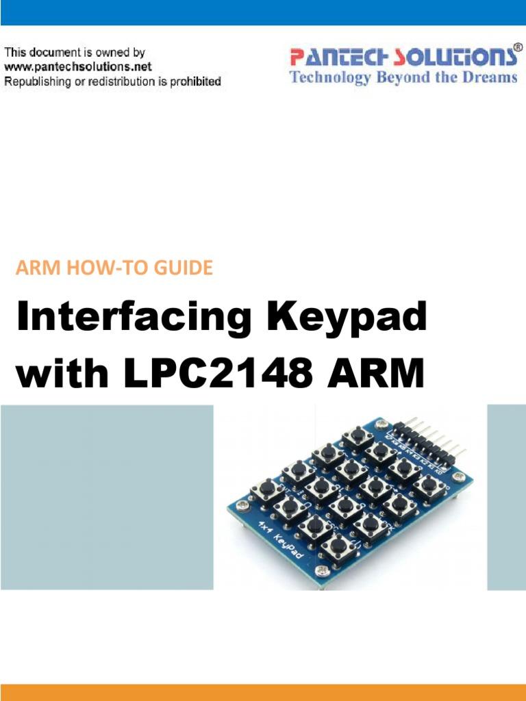 Circuit Diagram To Interface Keypad With Lpc2148 Arm7 Slicker Circuitdiagramtointerfacebuzzerwithlpc2148 Interfacing Arm Architecture