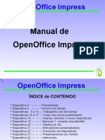 Presentacion OpenOffice Impress (Rectificada Por Mi 2016)