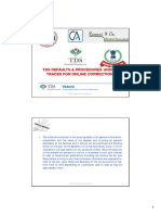 TDS Defaults & Procedures Under Traces For Online Correction By Taxguru Consultancy & Online Publication LLP