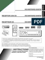 JVC KD SH9750 KD SH9700