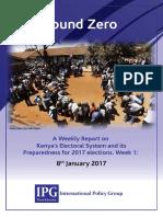 Ground Zero Report - Vol I No 1