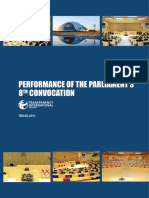 Parliamentary Work Report 2016