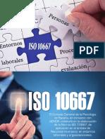 Diptico ISO 10667