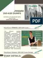 Pass4sure 2v0-620 VMware Exam Questions