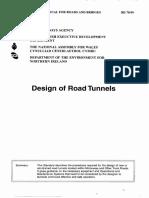 Proiectarea tunelurilor de sosea