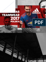 Adidas TEAMWEAR 2017 - Polska