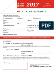 Bulletin d'adhésion MRC 2017