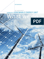 UNIDO Renewable and Rural Energy