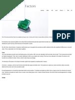 GIA, Emerald Quality Factors